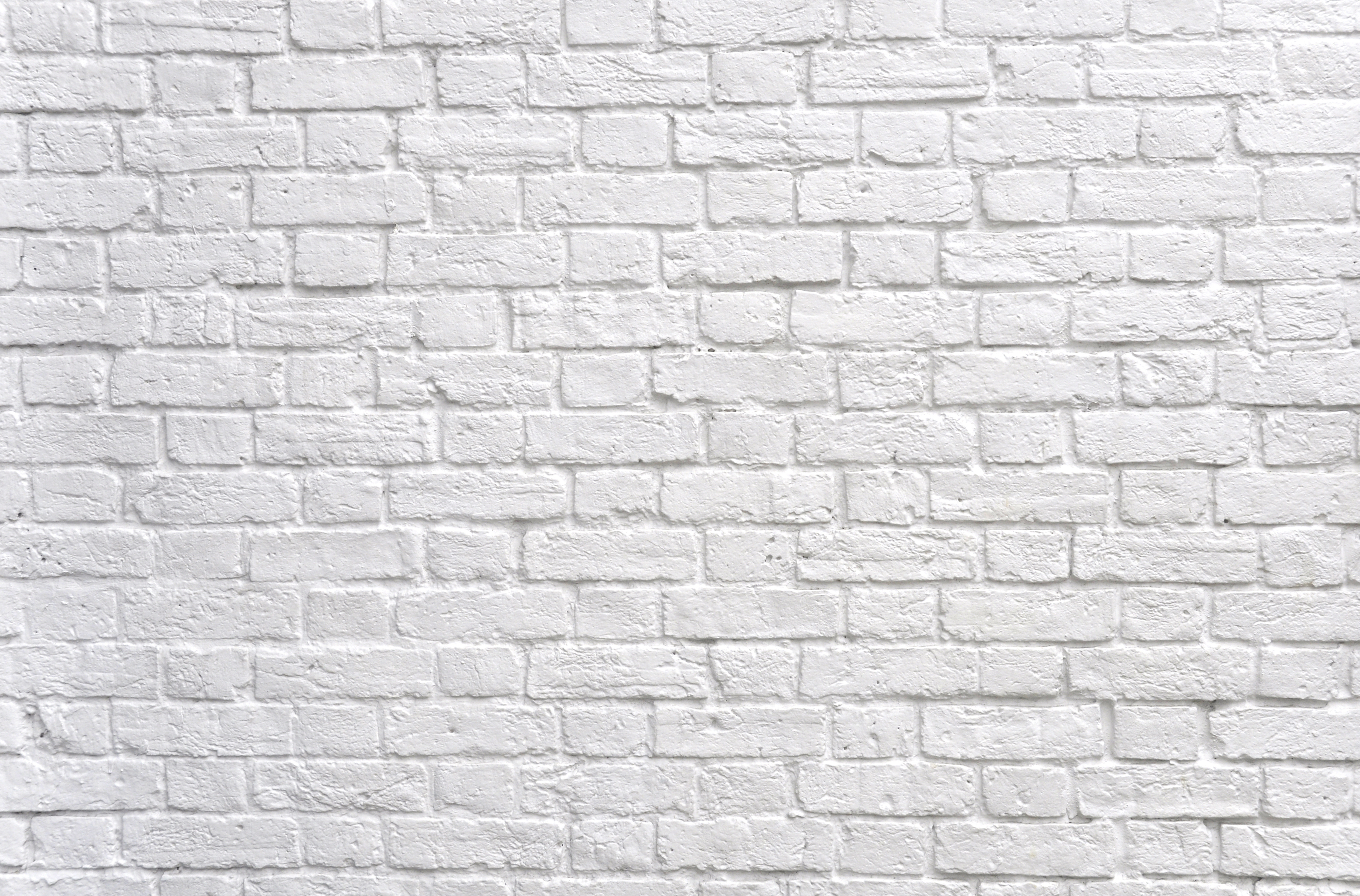 Black and white brick wall background white brick wall