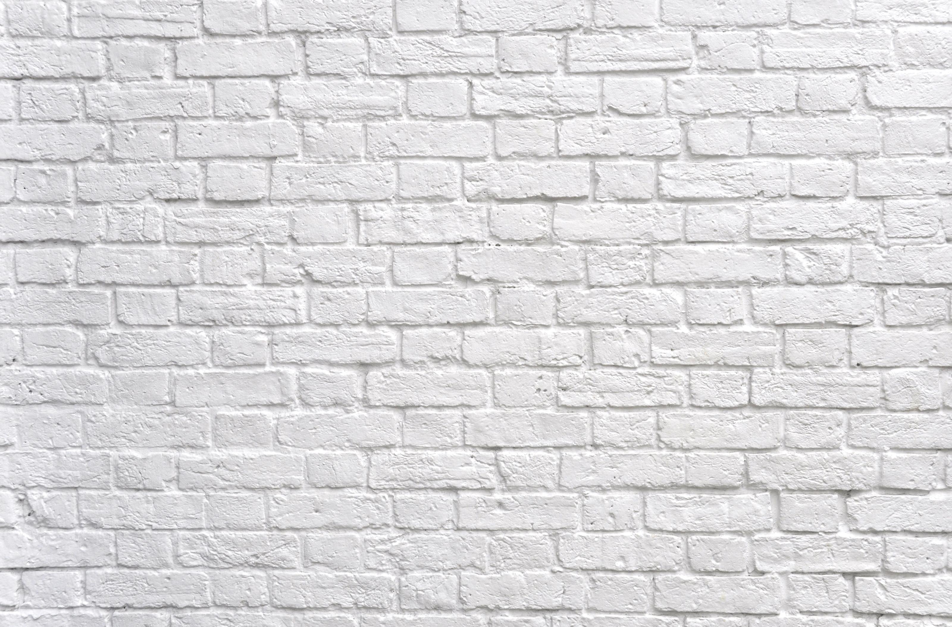 Black and white brick wall background white brick wall for Black and white wallpaper for walls